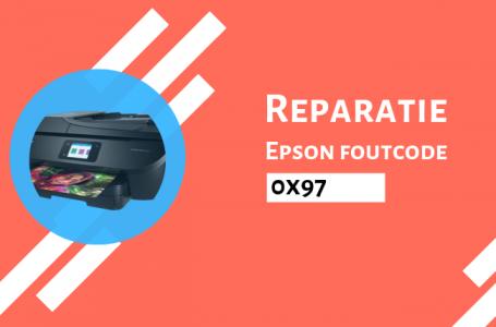 Hoe Epson Foutcode 0x97 te Repareren?